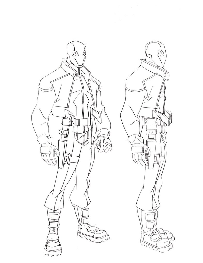 786x1017 Batman Red Hood Coloring Pages