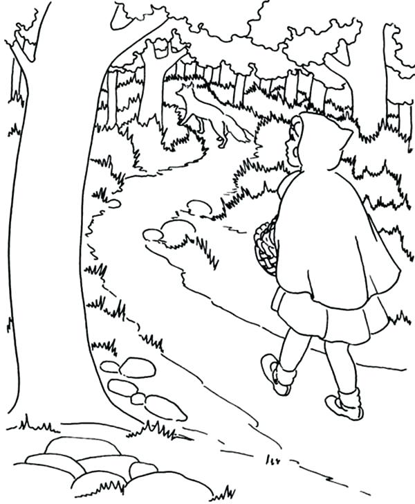600x728 Jungle Coloring Pages Printable