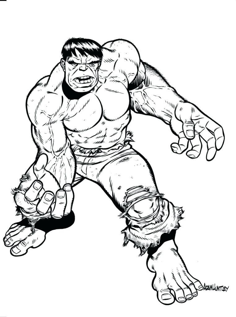 762x1024 Hulk Printable Coloring Pages Free Printable Hulk Coloring Pages