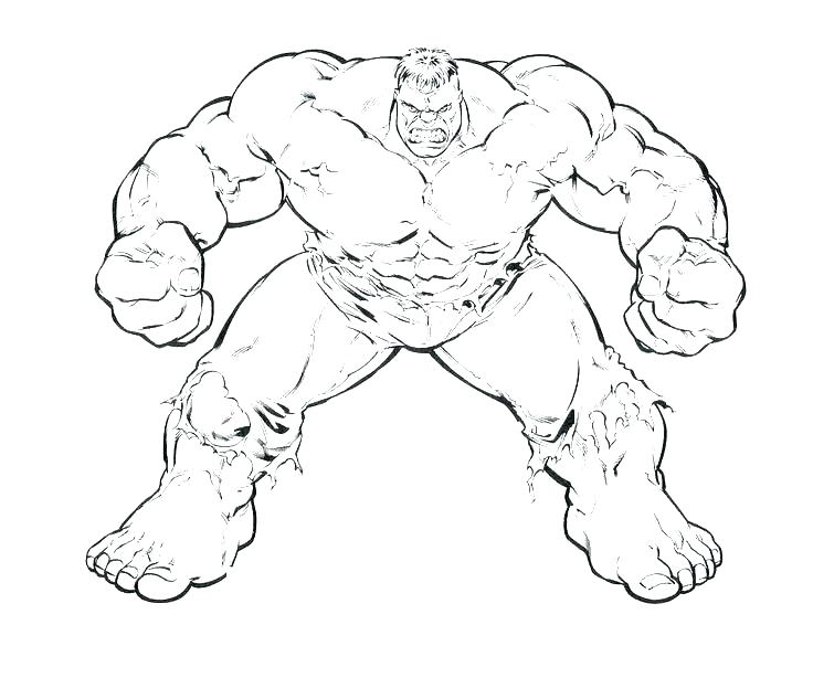 Red Hulk Coloring Pages At Getdrawings Free Download