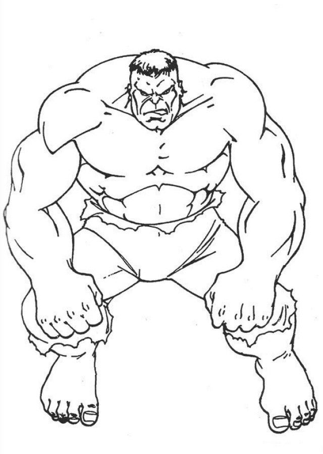 640x900 Incredible Hulk Coloring Pages Luxury Marvel Red Hulk Coloring