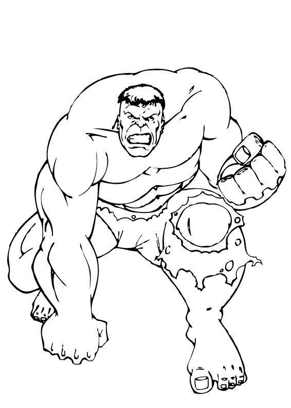 566x793 Incredible Hulk Coloring Pages Printable