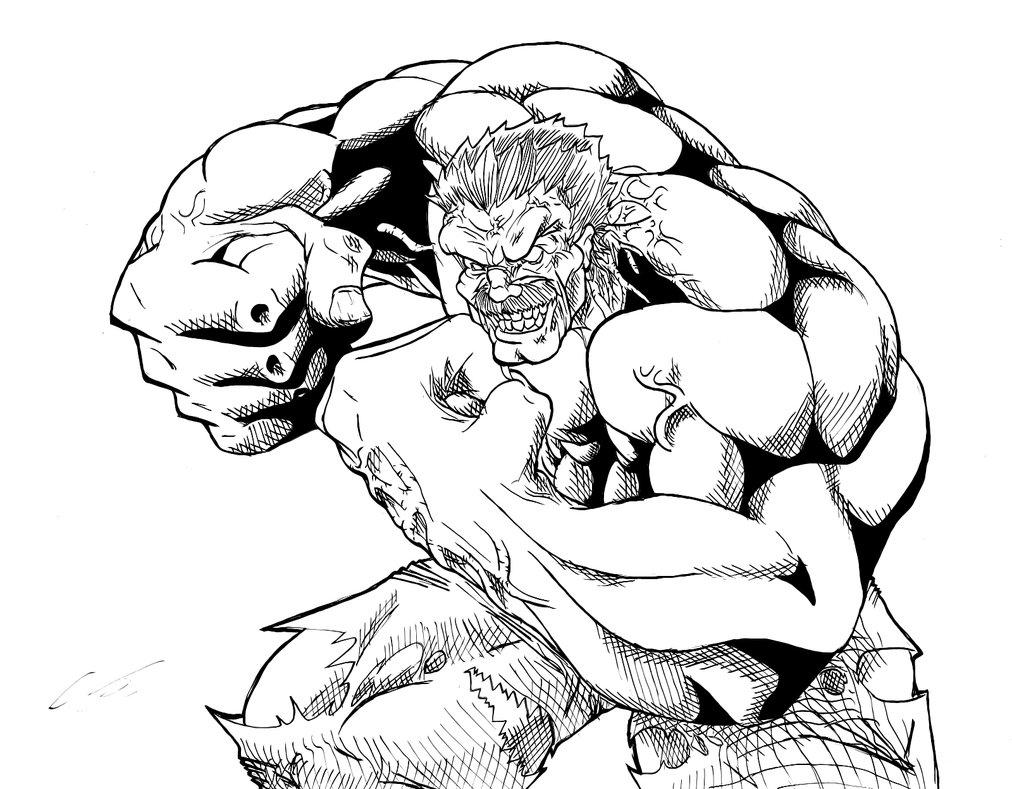 1012x789 Red Hulk Coloring Pages Free Coloring For Kids