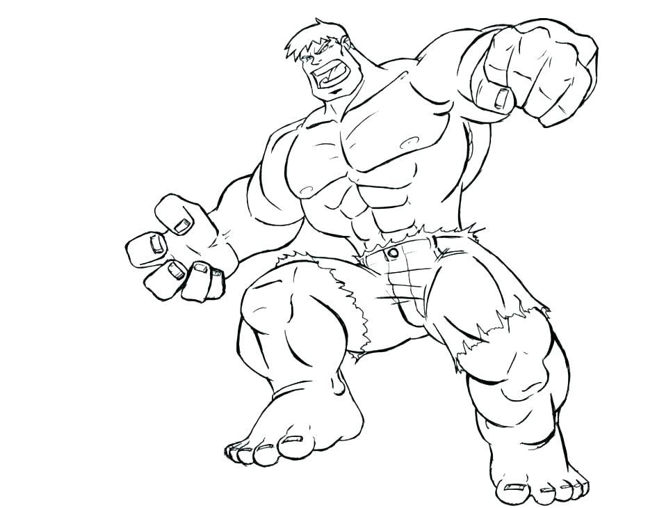 945x730 Hulk Coloring Pages Red Hulk Coloring Pages Incredible Hulk