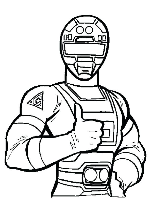 595x842 Power Ranger Color Pages Mighty Power Rangers Coloring Pages Power