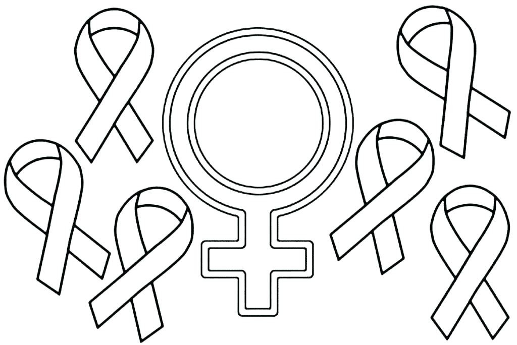 1024x684 Red Ribbon Coloring Pages Breast Cancer Coloring Pages Red Ribbon