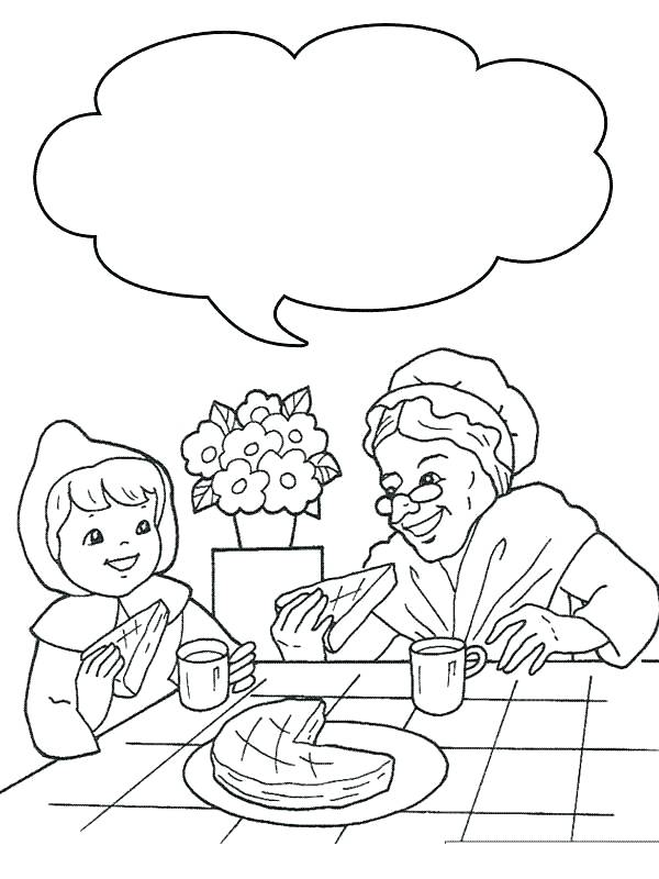 600x800 Little Red Riding Hood Coloring Pages Little Red Riding Hood Free