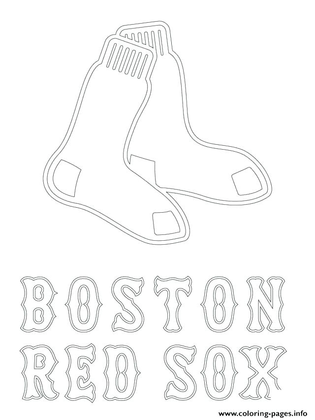 640x853 Red Sox Coloring Pages Mitt Coloring Page Red Sox Coloring Pages
