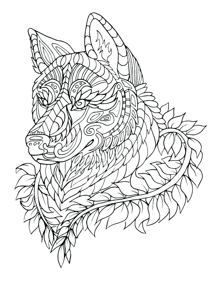 727x960 Red Wolf Coloring Sheets Anime Wolf Coloring Pages Anime Wolf