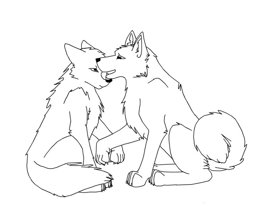 900x701 Top Wolf Coloring Pages