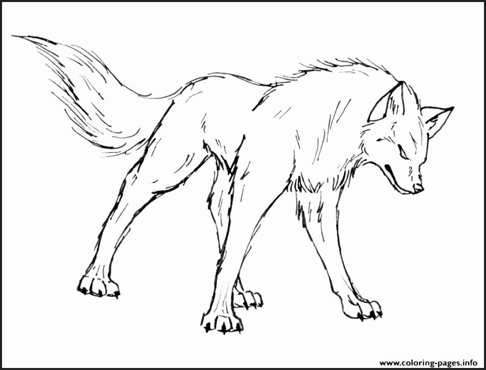 952x726 Wolf Coloring Pages For Adults