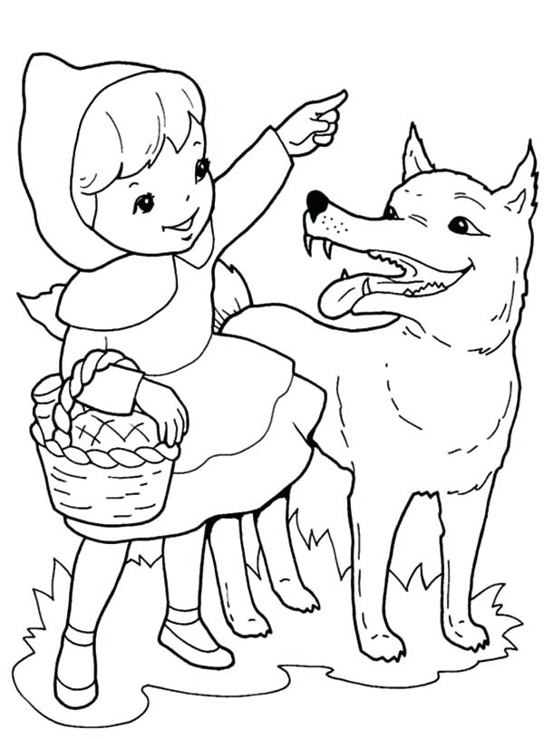 600x815 Baby Wolf Coloring Sheets Anime Wolf Printable Coloring Pages