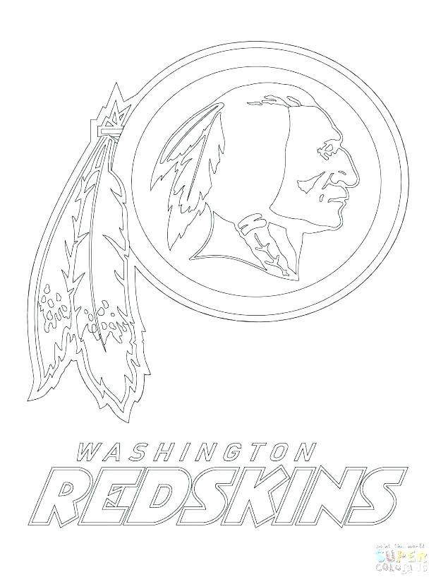 Redskins Coloring Pages At Getdrawings Com Free For Personal Use