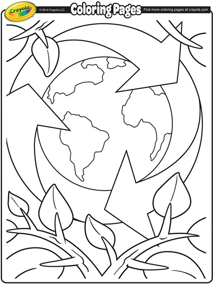 Reduce Reuse Recycle Coloring Pages at GetDrawings | Free ...