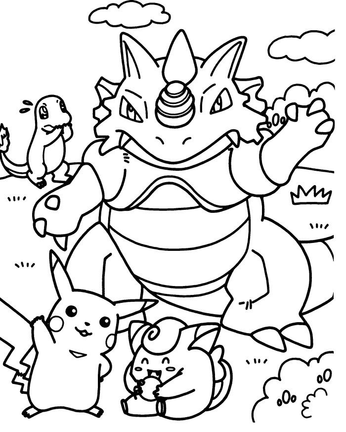Regigigas Coloring Pages