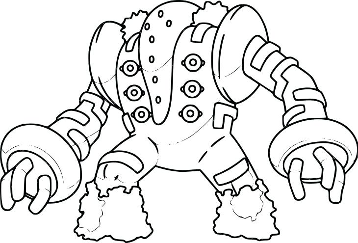 Regigigas Coloring Pages At Getdrawings Free Download