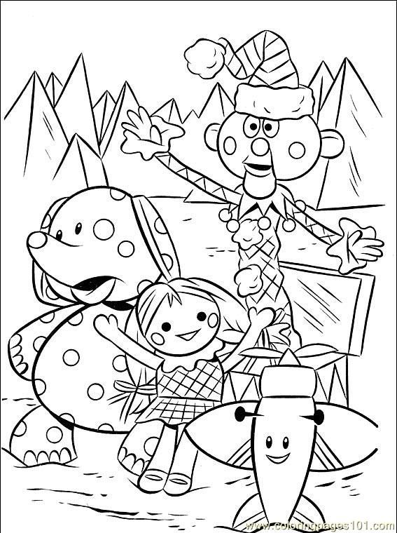 567x760 Rudolph Coloring Pages Free Printable, Cartoon And Free