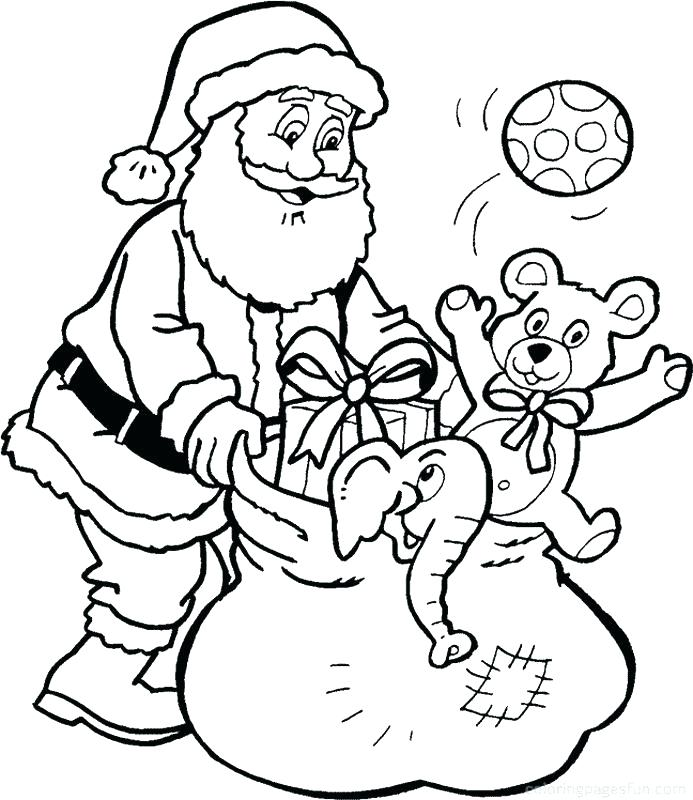 693x800 Santa Printable Coloring Pages Coloring Pages Coloring Pages