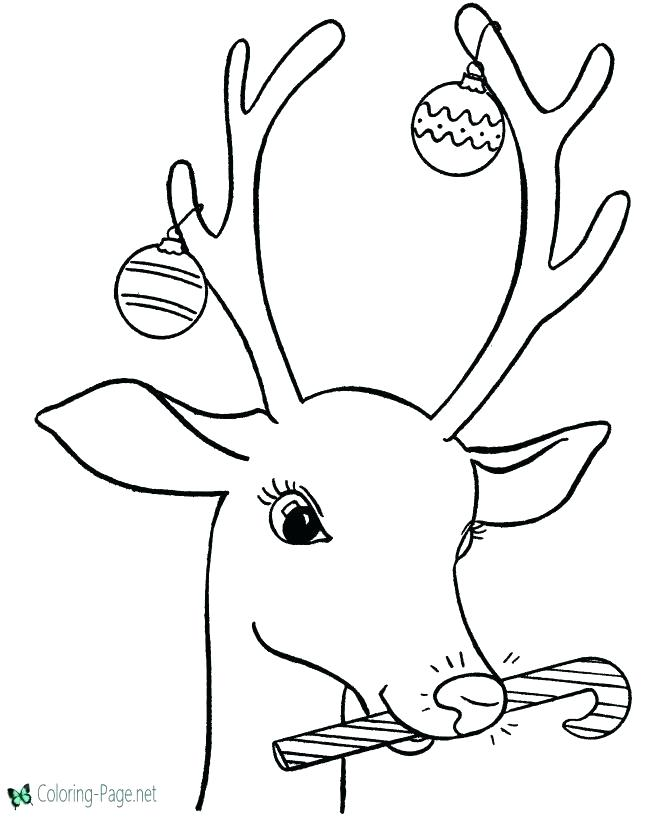 670x820 Reindeer Coloring Pages Reindeer Coloring Pictures Printable Pages
