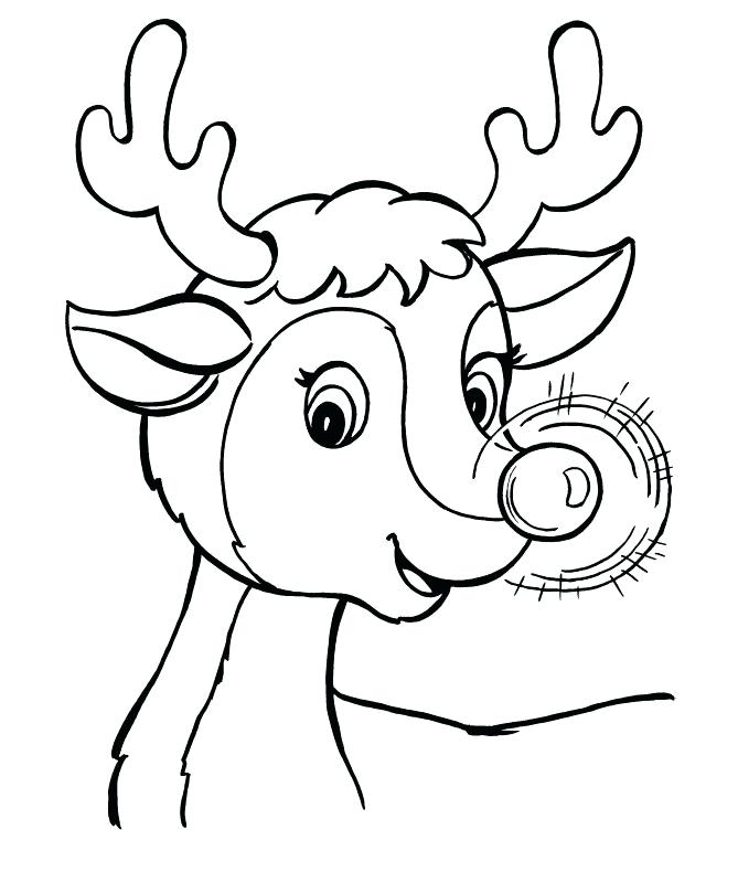 669x800 Rudolph Coloring Pages Pdf Printable Coloring Reindeer Coloring