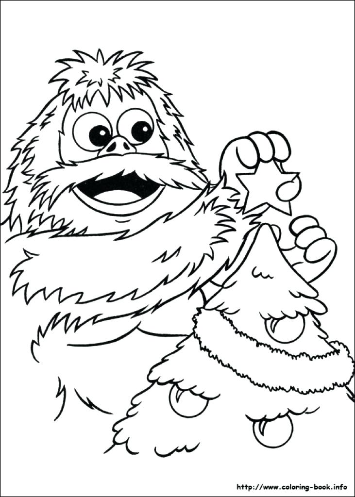 731x1024 Rudolph The Red Nosed Reindeer Coloring Page The Red Nosed