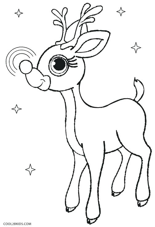504x735 Rudolph Coloring Picture Fresh Design Coloring Pages Printable