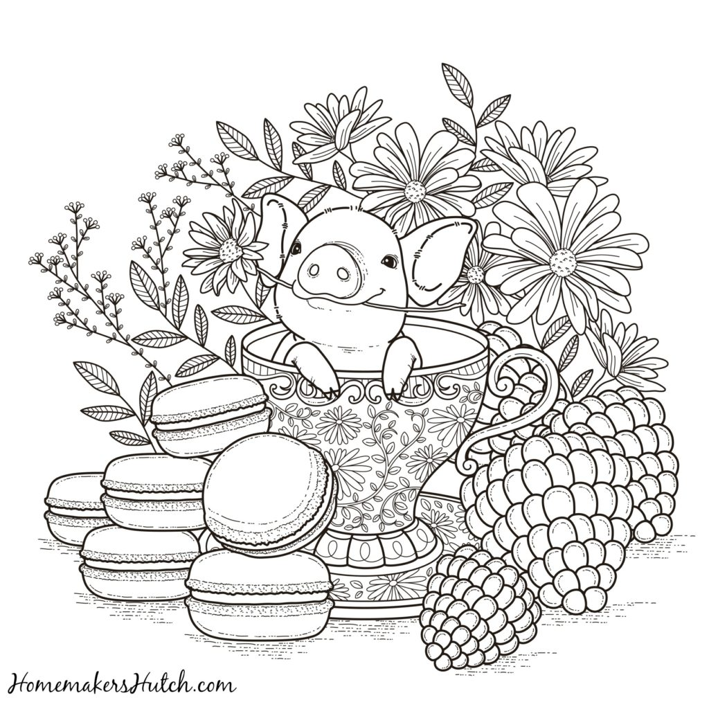 1024x1024 Alluring Relaxing Coloring Pages Printable For Cure Printable