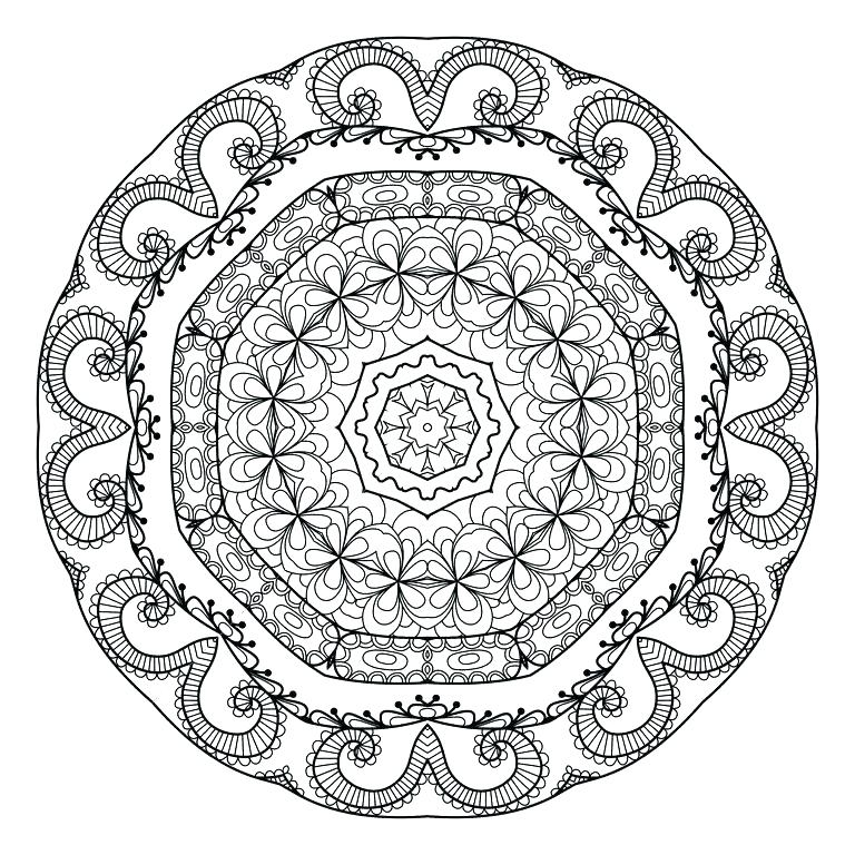 768x768 Relaxing Coloring Pages Relaxing Coloring Pages A Mandala Coloring