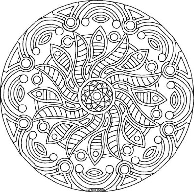 399x395 Relaxing Coloring Pages Relaxing Coloring Pages Colouring