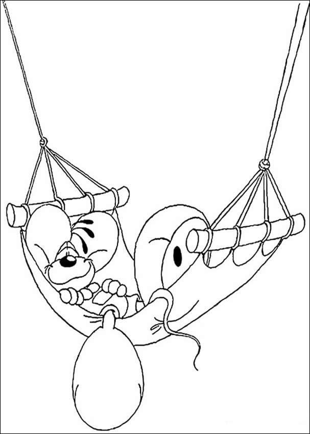 607x850 Diddl Relaxing Coloring Pages