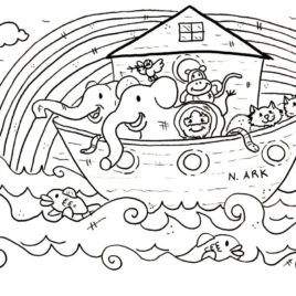 268x268 Christian Coloring Pages For Kids Give The Best Coloring Pages