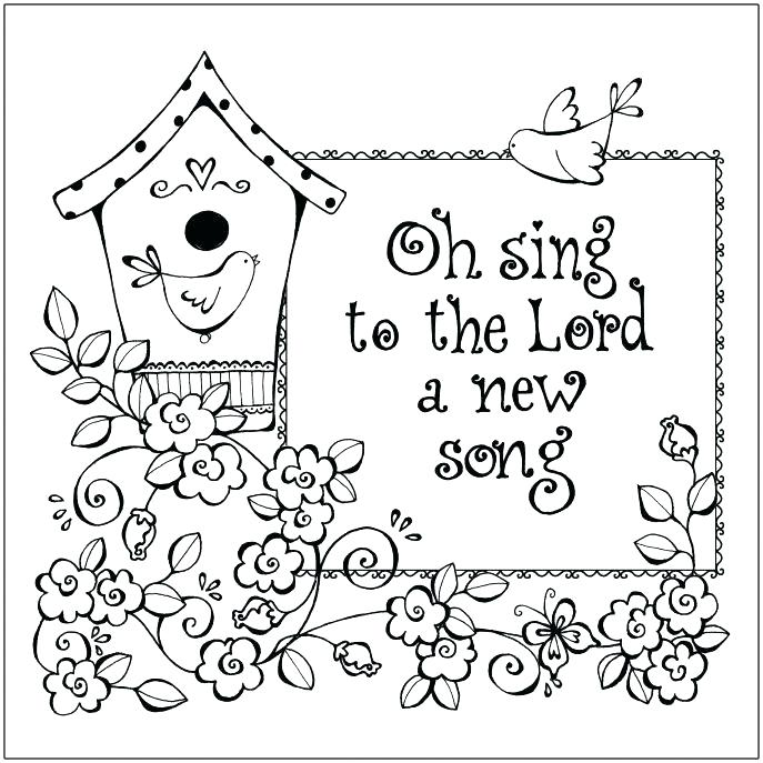 687x687 Christian Coloring Pages For Adults
