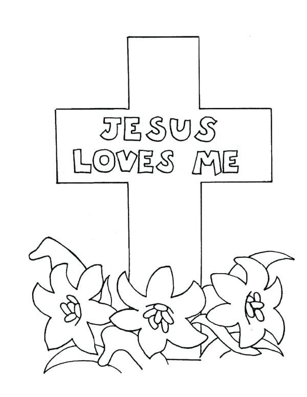 600x776 Jesus On The Cross Coloring Pages Medium Size Of Religious Died