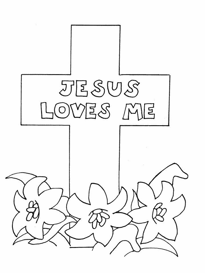 Religious Easter Coloring Pages At Getdrawings Com Free For