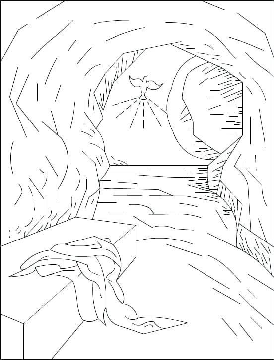 552x723 Easter Coloring Pages Religious