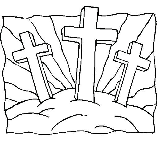 507x471 Religious Easter Coloring Pages