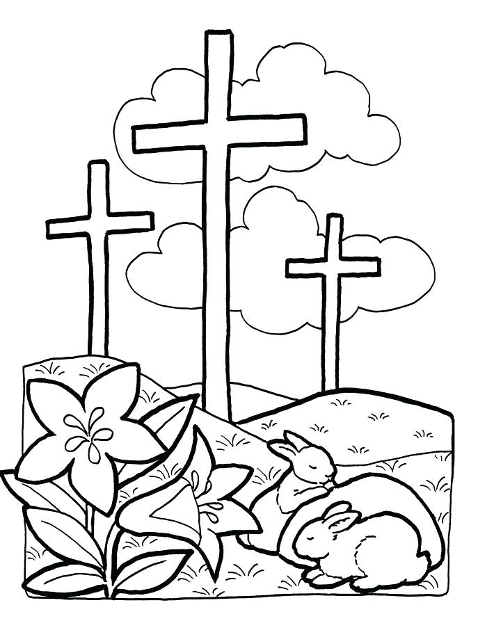 687x893 Easter Coloring Pages Religious Christian Coloring Pages Religious