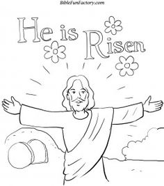 Religious Easter Coloring Pages For Preschoolers at GetDrawings.com ...