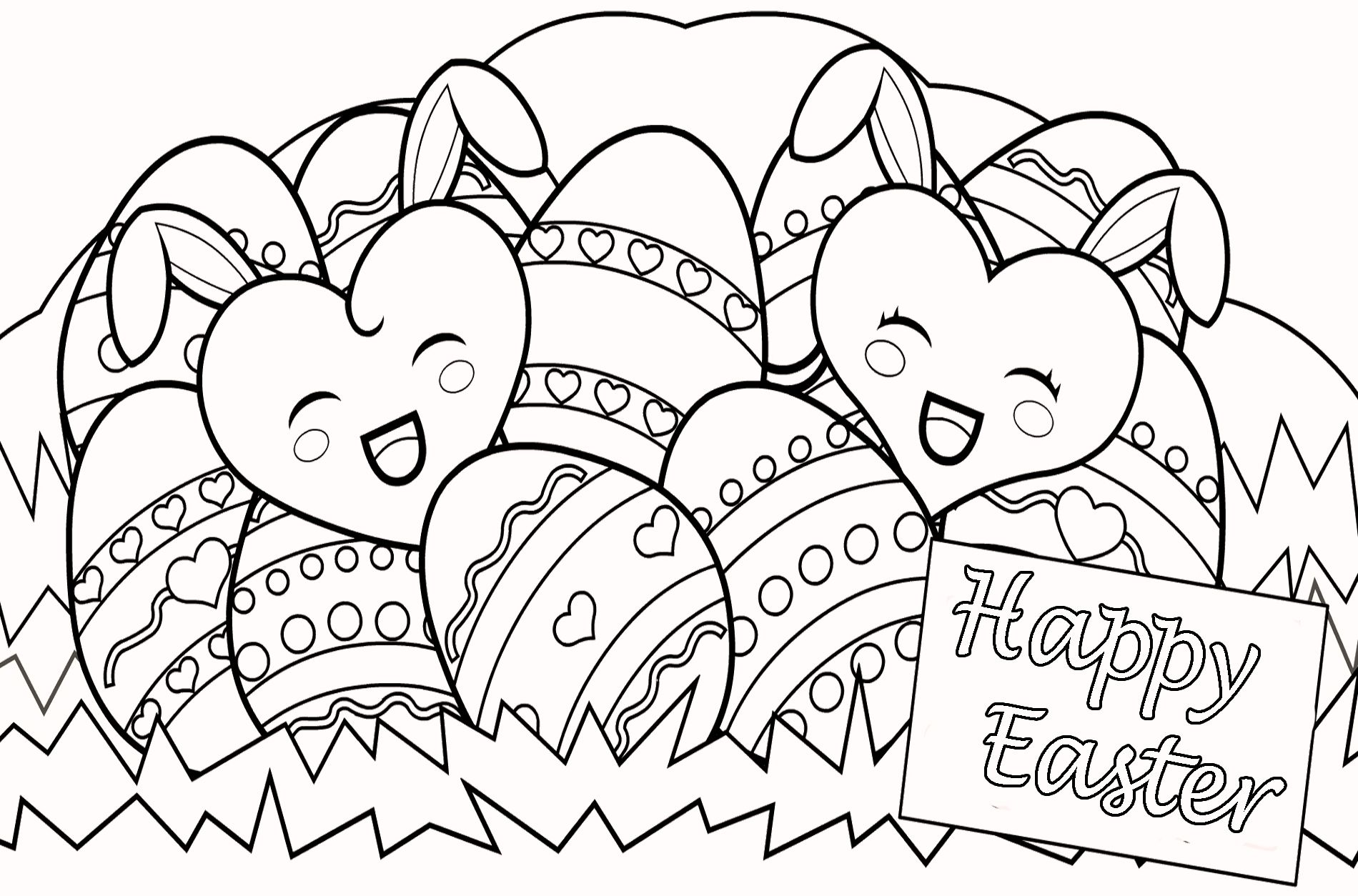 1900x1254 Religious Easter Coloring Pages
