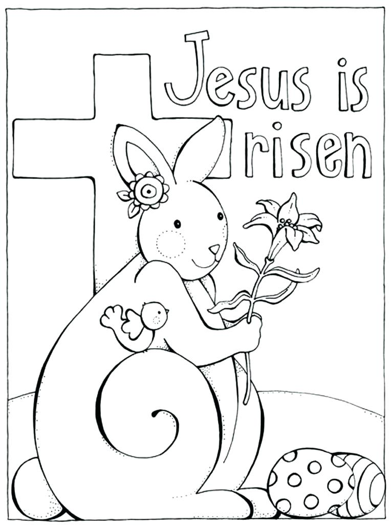 764x1024 Easter Coloring Pages Printable Free