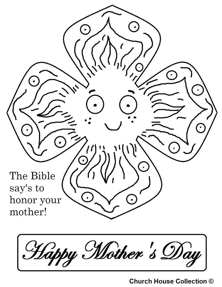 736x952 Mothers Day Bible Coloring Pages Mothers Day Flowers Coloring