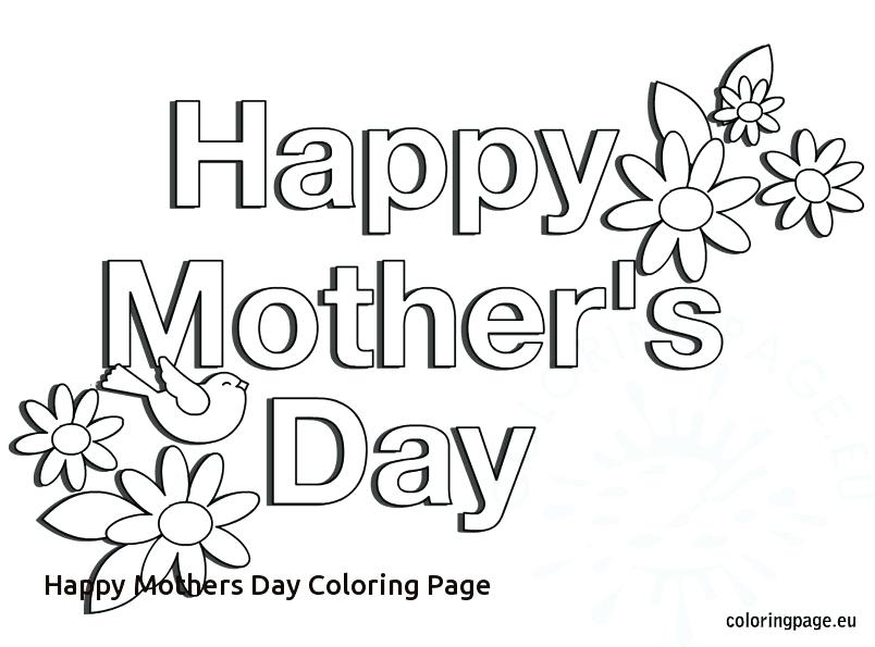 804x595 Mothers Day Coloring Pages Free Printable Happy Mothers Day Teddy