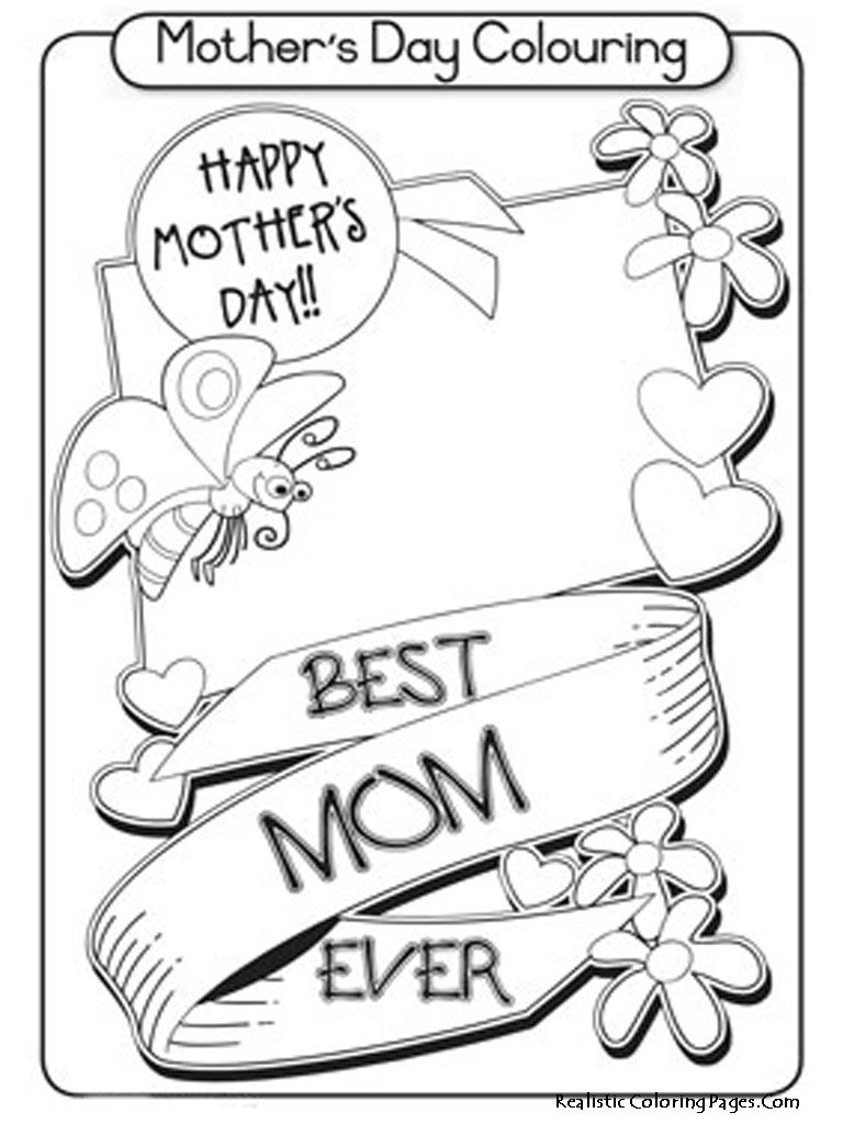 768x1024 Superb Mothers Day Coloring Pages With For Free General Online