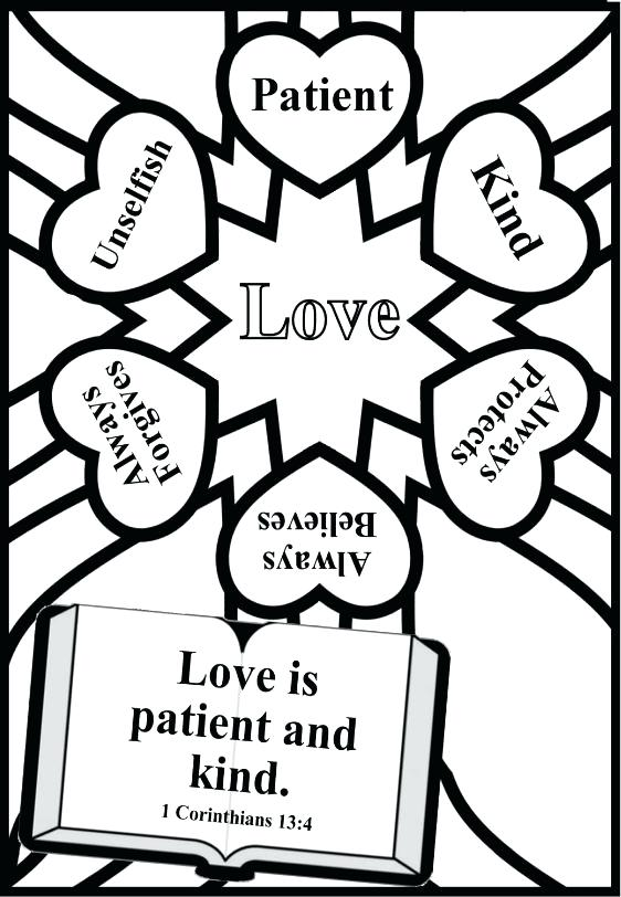 562x812 Childrens Church Coloring Pages