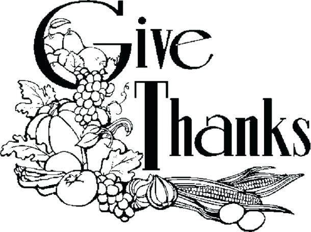 610x455 Christian Thanksgiving Coloring Pages Religious Thanksgiving Clip