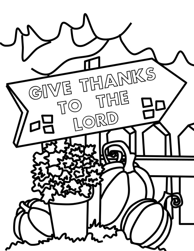 618x800 Christian Thanksgiving Coloring Pages Happy Thanksgiving Coloring