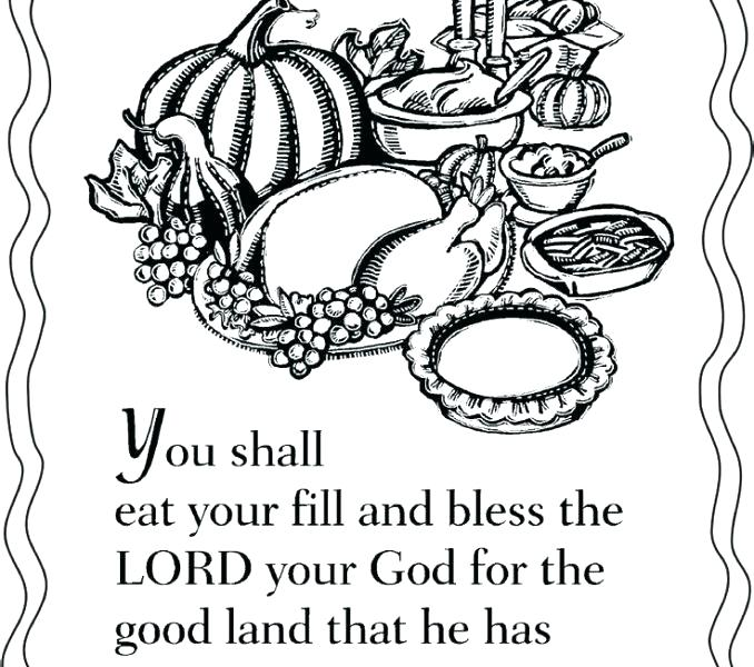 678x600 Free Christian Thanksgiving Coloring Pages Christian Thanksgiving