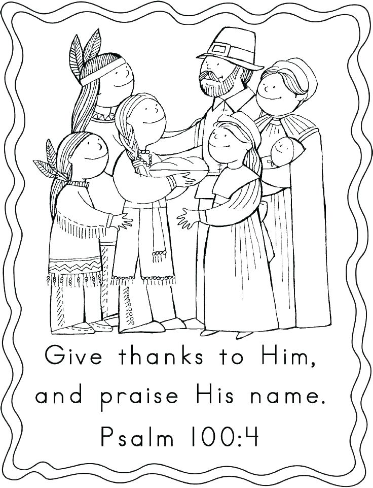 736x961 Free Christian Thanksgiving Coloring Pages Thanksgiving Printable