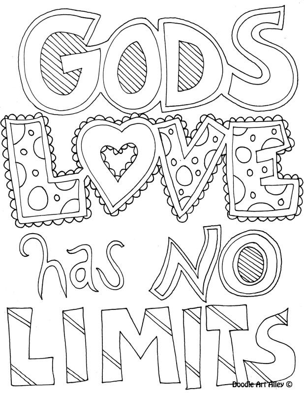 Religious Valentine Coloring Pages