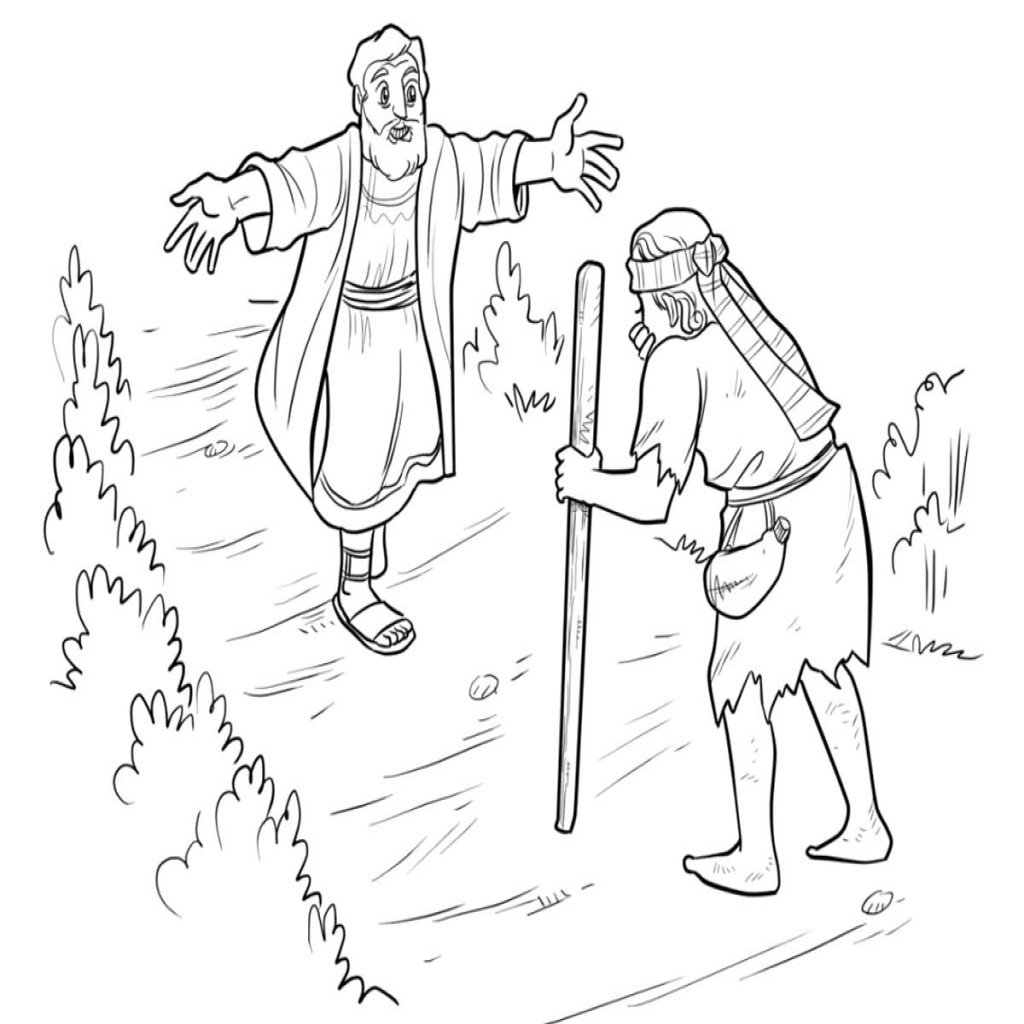 1024x1024 Prodigal Son Coloring Pages Intended For The Prodigal Son